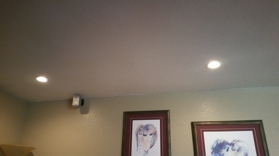 Ceiling light cans added to any room